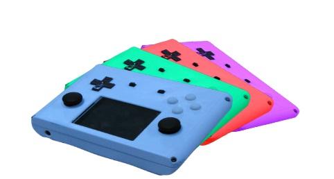 ラズベリーパイ ポータブルゲーム機