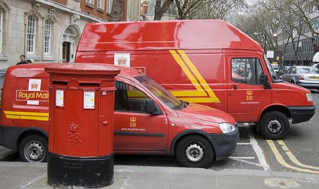 イギリス郵便局ロイヤルメール