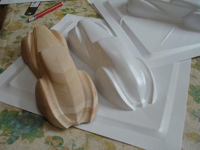 真空成形 木型