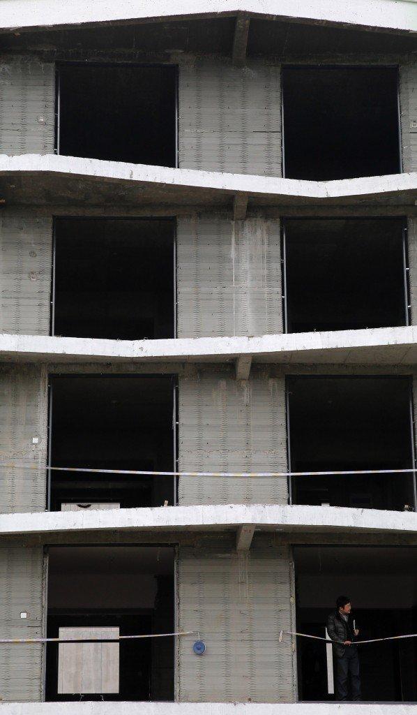 6階建ての3Dプリントアパート