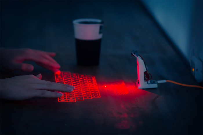 3Dプリントレーザーキーボード  オープンソース