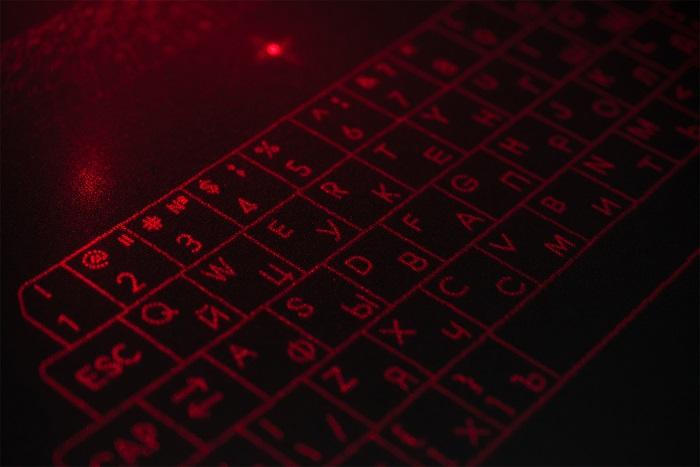 3Dプリントレーザーキーボード