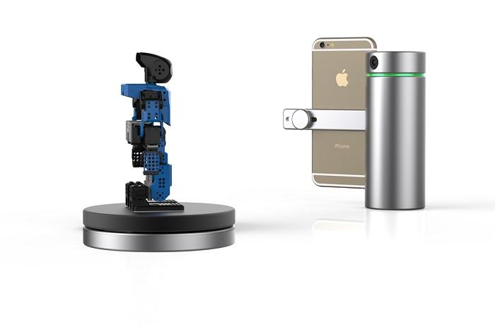 iPhone専用 スマートフォン対応 3Dスキャナー eora3D