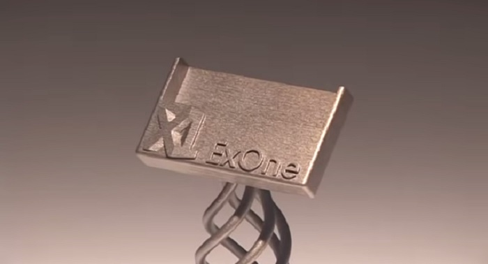 ロストワックス鋳造 ExOne バインダージェット3Dプリンター