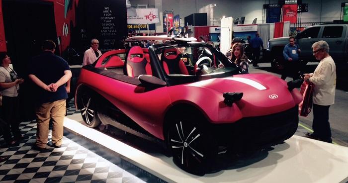 3Dプリント電気自動車 ローカルモーターズ 道路対応