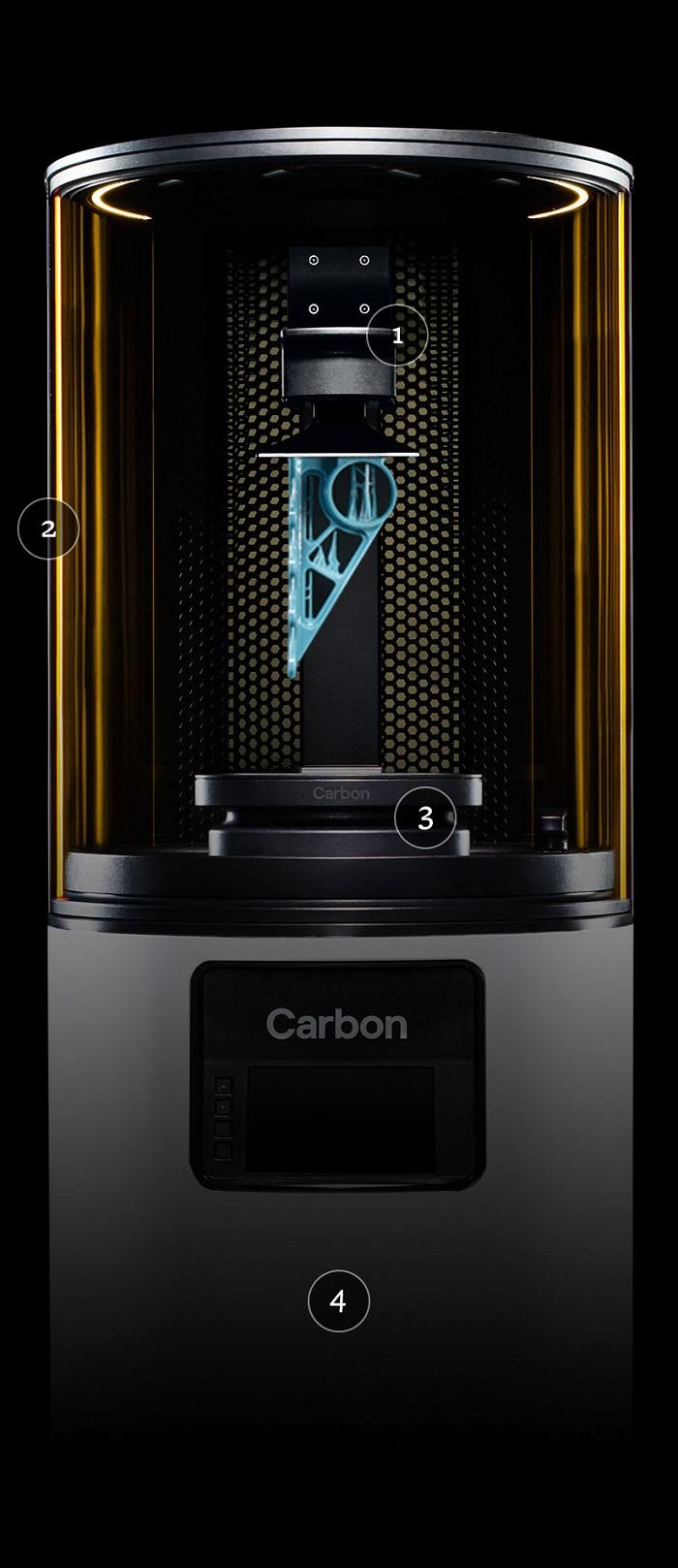 Carbon M1 3Dプリンター 光造形