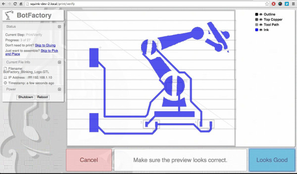 デスクトップ 電子回路3Dプリンター 多層プリント基板 BotFactory Squink