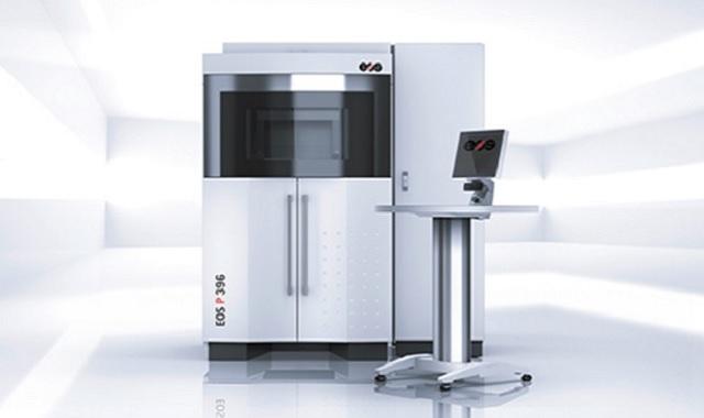 EOS レーザー焼結法(SLS) 3Dプリンター P396 ナイロンポリアミド