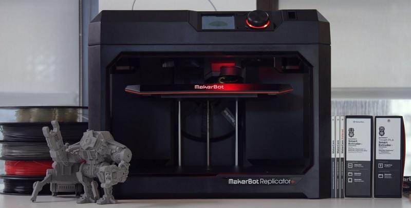 MakerBot Replicator+ デスクトップ3Dプリンター タフPLA