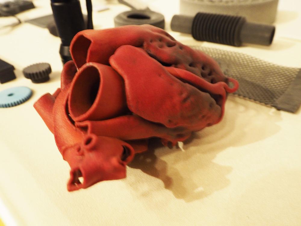 HP 3Dプリンタ 造形サンプル